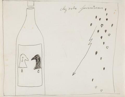 Marcel Broodthaers - Vinaigre des Aigles