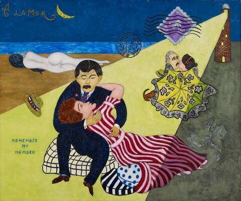 William Nelson Copley - A la mer