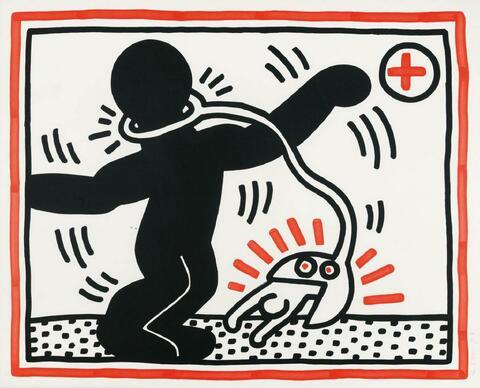 Keith Haring - Ohne Titel 1