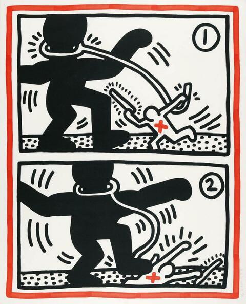 Keith Haring - Ohne Titel 3