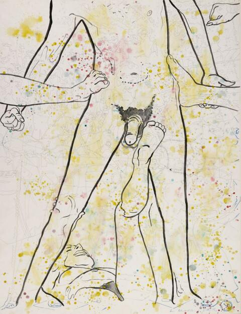 Sigmar Polke - Ohne Titel (Münster 1973)