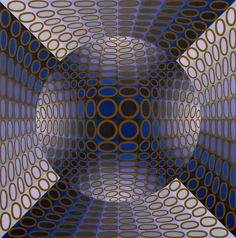 Victor Vasarely - Atome