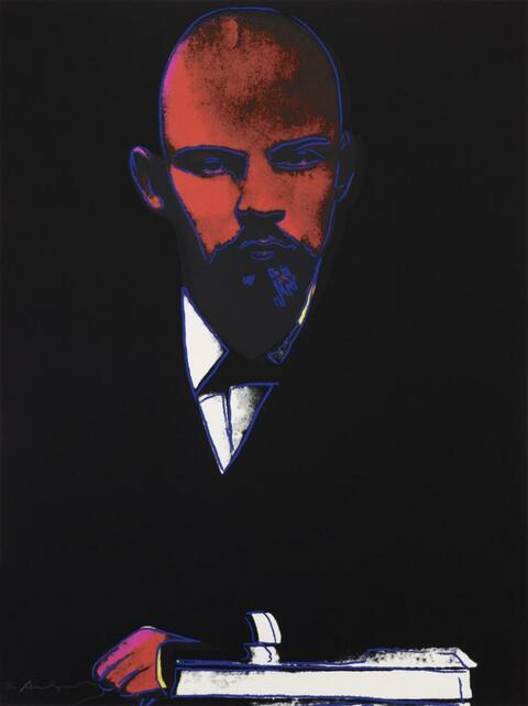 Andy Warhol - Lenin