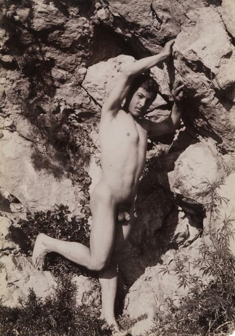Wilhelm von Gloeden - JUNGER SIZILIANER, TAORMINA