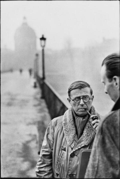 Henri Cartier-Bresson - JEAN-PAUL SARTRE