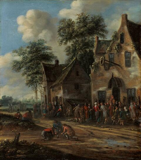 Thomas Heeremans - IN FRONT OF A TAVERN