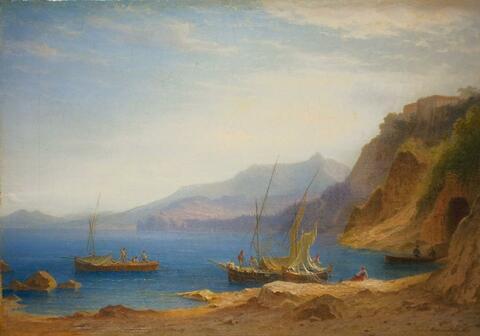 Carl Morgenstern - ITALIAN MOUNTAIN LAKE
