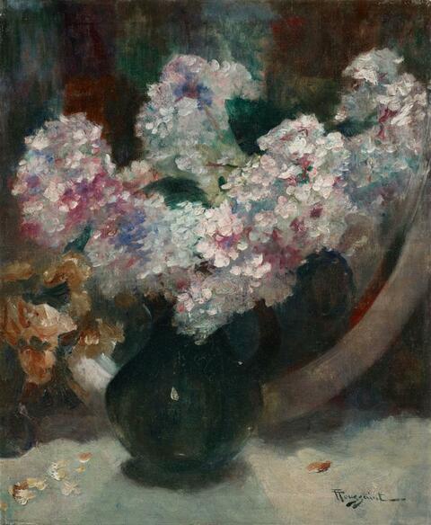 Fernand Toussaint - STILL LIFE WITH FLOWERS