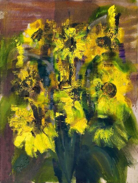 Rainer Fetting - Sonnenblumen (Sun Flowers)