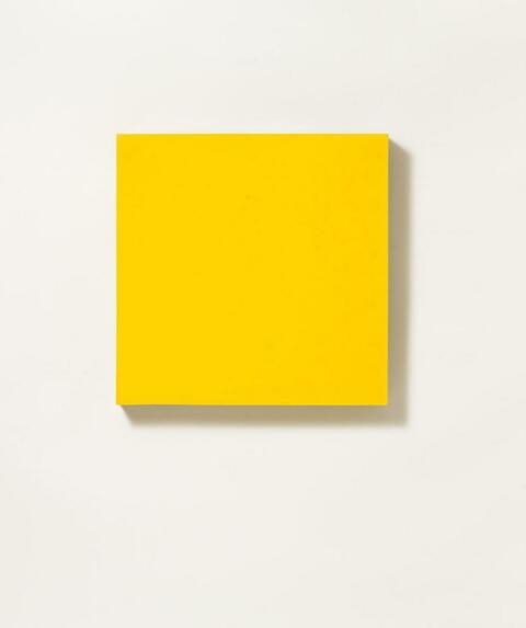 Herbert Hamak - Ohne Titel (Gelb)