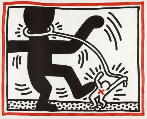Keith Haring - Ohne Titel