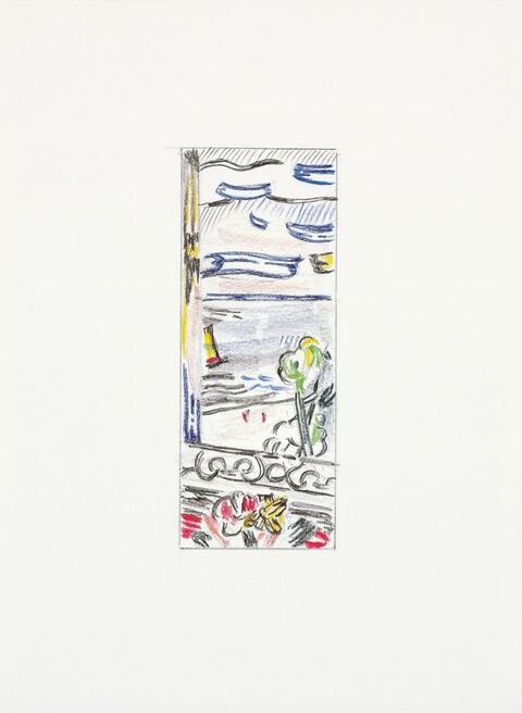 Roy Lichtenstein - Landscape Sketches 1984-1985