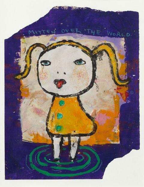 Yoshitomo Nara - Mitten over the world
