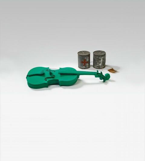 Joseph Beuys - Musik als grün. Telephon S