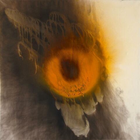 Otto Piene - Orange Licht / Orange Light