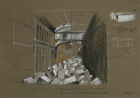 Fabrizio Plessi - Ponte dei Sospiri (Venedig)