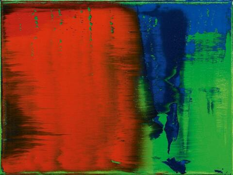 Gerhard Richter - Grün-Blau-Rot / Green-Blue-Red