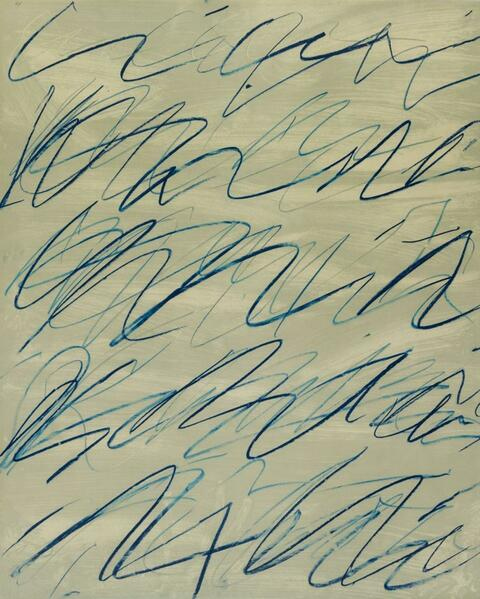 Cy Twombly - Roman Notes IV