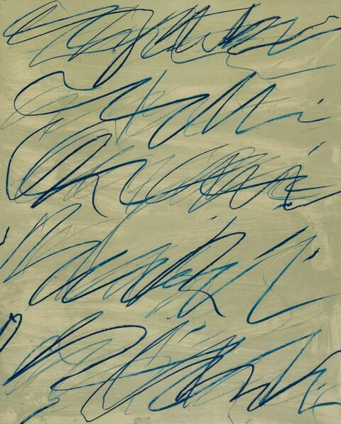 Cy Twombly - Roman Notes VI