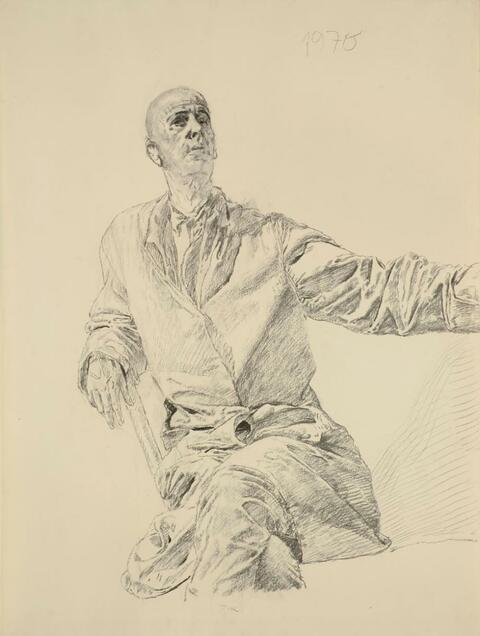 Werner Tübke - Self-Portrait