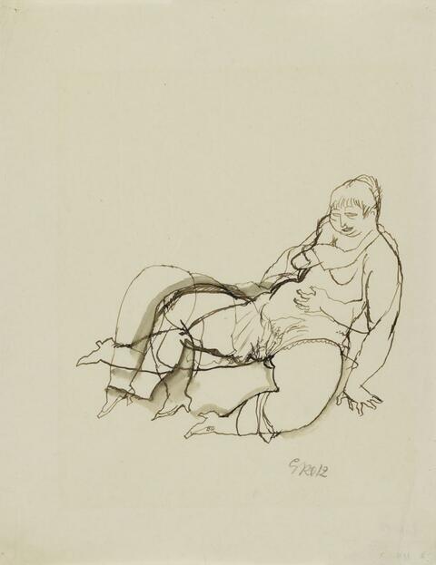 George Grosz - Hermaphrodit - Erotische Szene