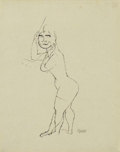 George Grosz - Anticipation - In Erwartung