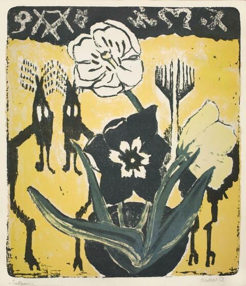 Erich Heckel - Tulpen