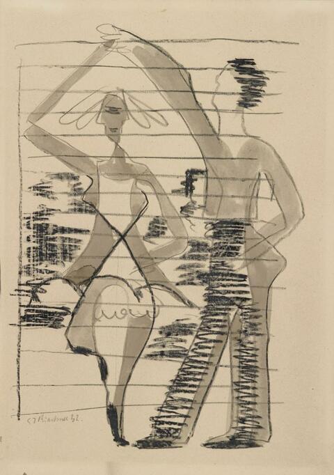 Ernst Ludwig Kirchner - Spinning Dancer