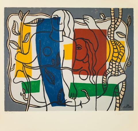 Nach Fernand Léger - Deux Femmes