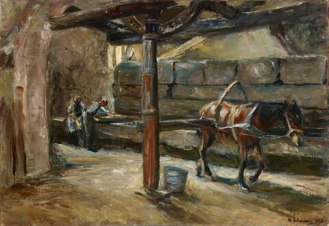 Max Liebermann - Fullery in Florence