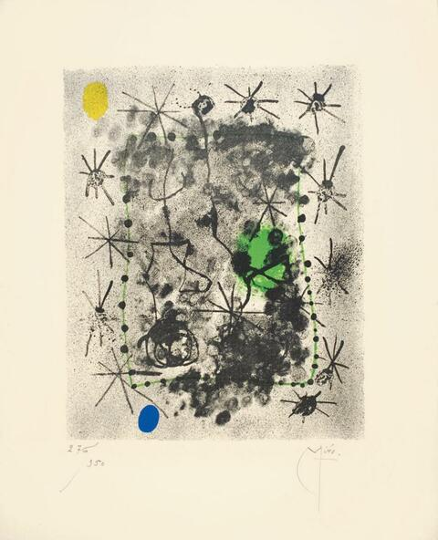 Joan Miró - André Breton, Constellations