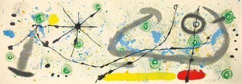 Joan Miró - Zu: Lézard aux Plumes d'Or