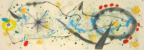 Joan Miró - Zu: Le Lézard aux Plumes d'Or