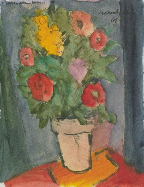 Ernst Mollenhauer - Blumenstrauß (Aus dem Keitumer Tagbuch)