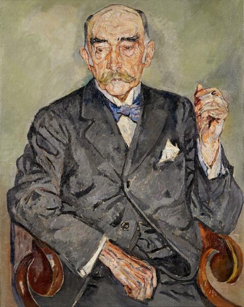 Mela Muter (Maria Melania Mutermilch) - Portrait Georges Clemenceau