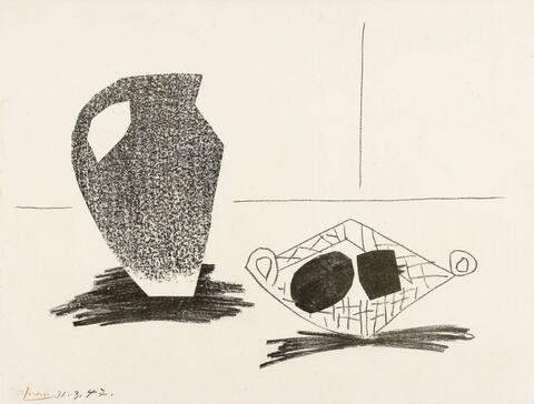 Pablo Picasso - Nature morte au Pot de Grès