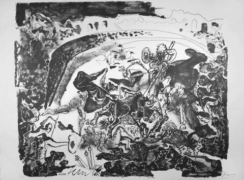 Pablo Picasso - La grande Corrida