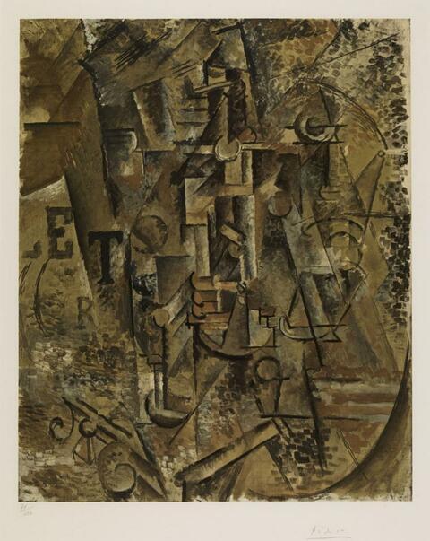 Nach Pablo Picasso - La Bouteille de Rhum