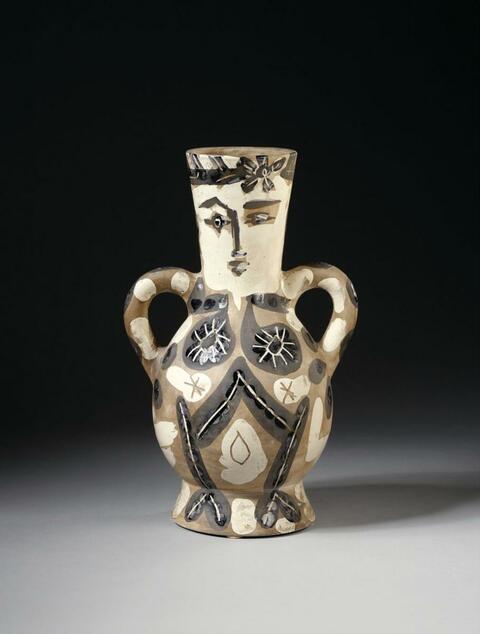 Pablo Picasso - Vase deux anses hautes