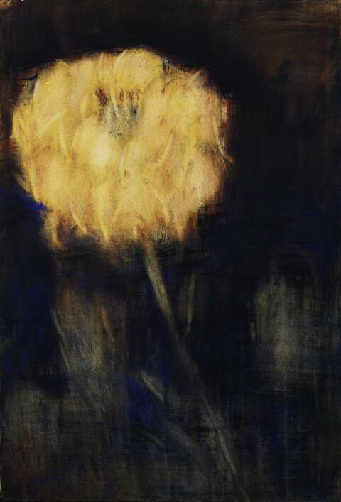 Christian Rohlfs - Yellow Chrysanthenum