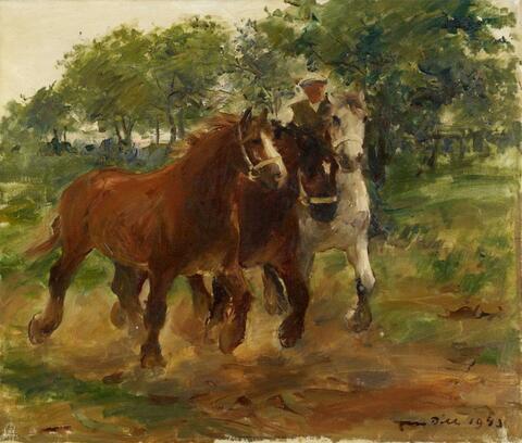 Otto Dill - Horses