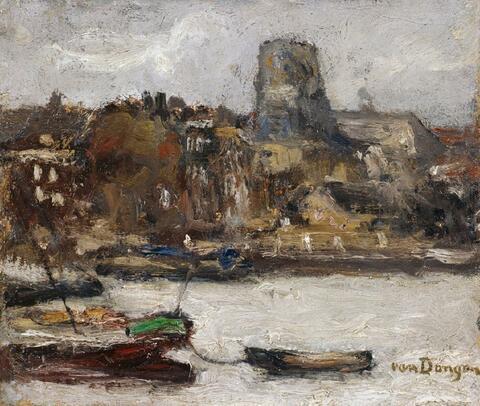 Kees van Dongen - Bord de rivière