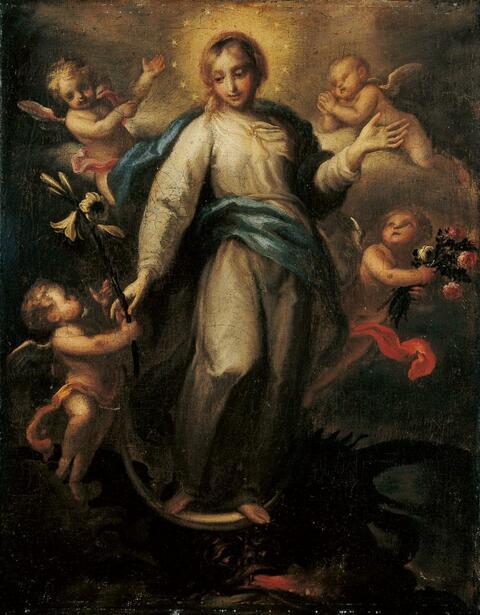 Süddeutscher Meister des 18. Jahrhunderts - MARIA IMMACULATA