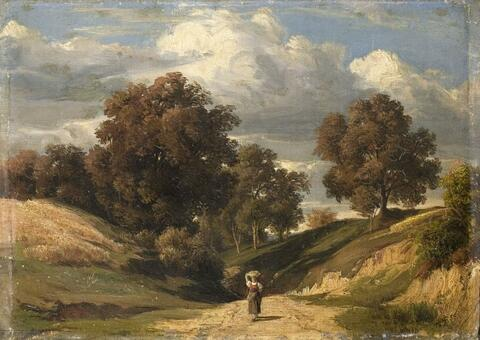Peter Becker - LANDSCAPE WITH PEASENT