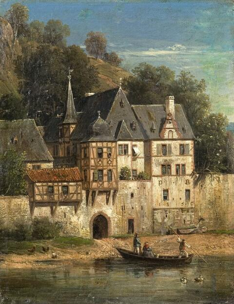 Peter Becker - FORTIFIED TOWN AT A RIVER