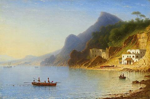 Carl Morgenstern - AT THE ITALIAN COAST