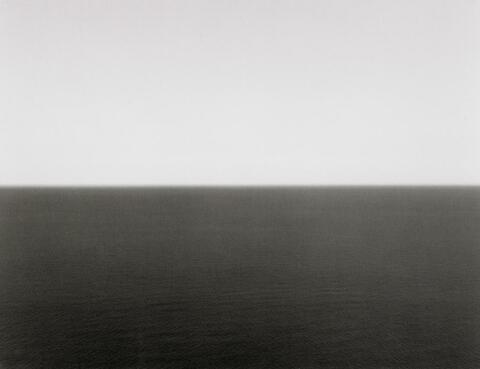 Hiroshi Sugimoto - ADRIATIC SEA, GARGANO (#342, AUS: TIME EXPOSED)