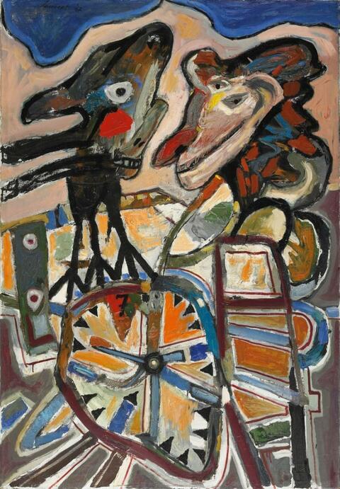 Lucebert - De Gelenksvogel