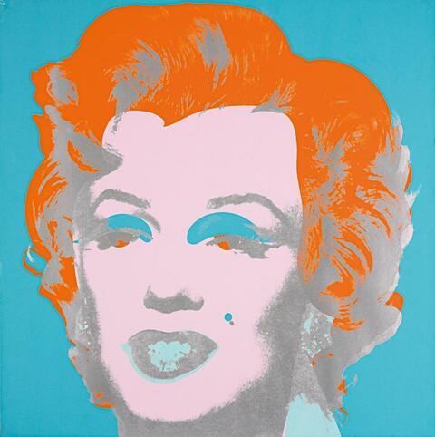 Andy Warhol - Marilyn Monroe (Marilyn)