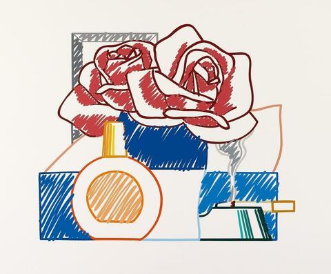 Tom Wesselmann - Scribble Version of Still-Life No. 58